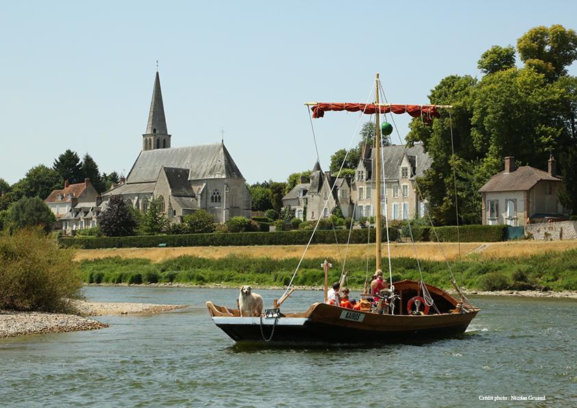 photo bateau - pays des chateaux
