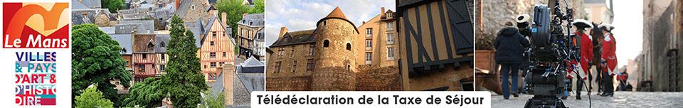 Déclaration de la taxe de séjour Ville du Mans