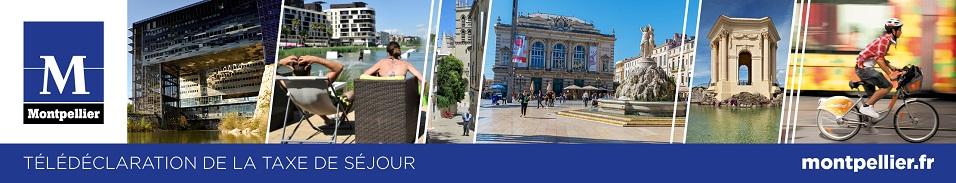 Déclaration de la taxe de séjour Mairie de Montpellier