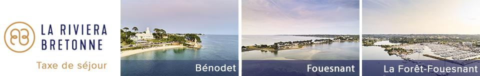 Déclaration de la taxe de séjour Riviera Bretonne - CC du Pays Fouesnantais